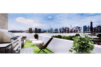 Two Bedroom, Two Bath Penthouse Duplex with Terrace in Greenpoint